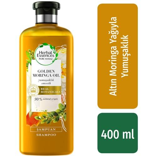Herbal Essences Şampuan Yumuşaklık Altın Moringa Yağı 400 ml