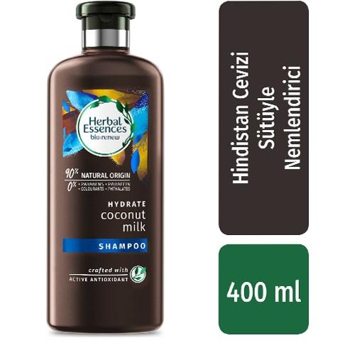 Herbal Essences Arındırıcı Hindistan Cevizi Özlü Şampuan 400 ml