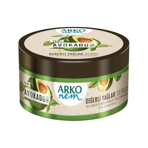 Arko Değerli Yağlar 250Ml(Avokado)*12