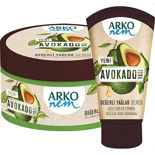 Arko Değerli Yağlar 250Ml+250Ml(Avokado)*6
