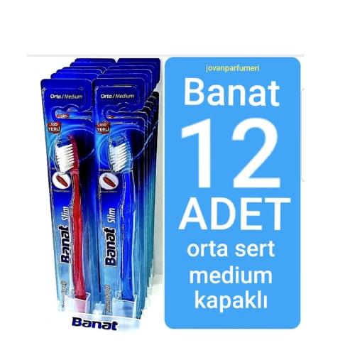 Banat Slım Diş Fırçası Medıum (12*12)144