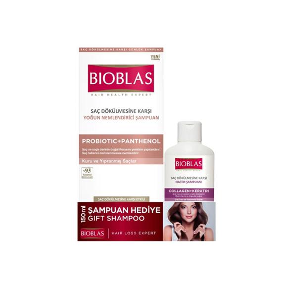 Bioblas Şampuan Probiotic Saç Dökülmesine Karşı 360 ml + 150 mlHediyeli