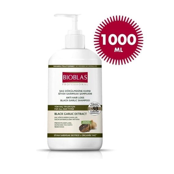 Bioblas Şampuan Sarımsaklı Siyah 1000 ml