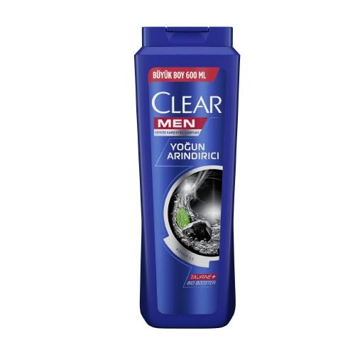 Clear Men Şampuan 600Ml*16(Yoğun Arındırıcı)