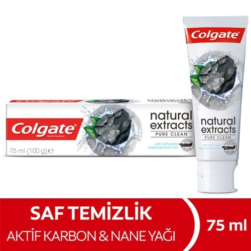 Colgate Natural Extracts Aktif Kömürlü Diş Macunu 75 Ml