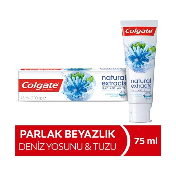 Colgate Natural Extracts Deniz Yosunu Tuzu Diş Macunu 75 ml
