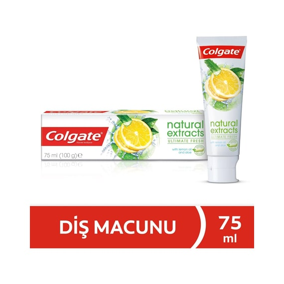 Colgate Natural Extracts Ultimate Fresh Diş Macunu 75 ml