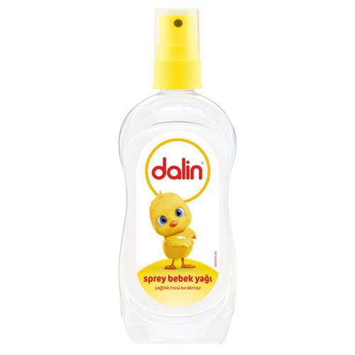 Dalin Bebe Yağı Light Oil Yeni  Spray 200 ml