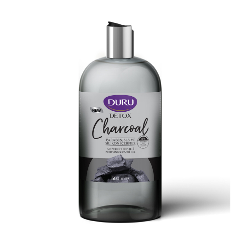 Duru Detoks Duş Jeli 500 Ml Charcoal*12