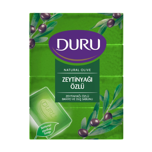 Duru Natural Sabun 600Gr(Zeytinyağlı)*18