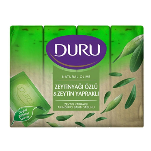Duru Natural Sabun Tekli 150Gr(Zeytinyapraklı)*48