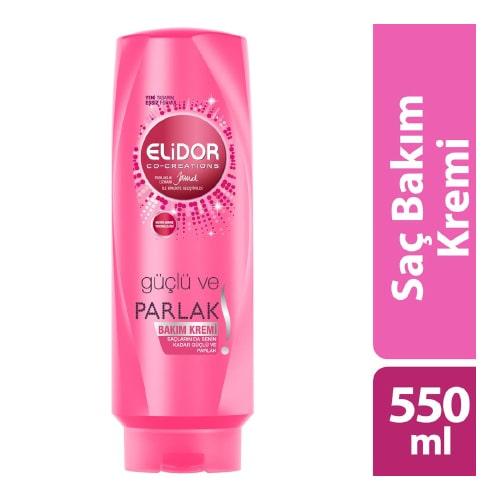 Elidor Güçlü ve Parlak Saç Kremi 550 ml