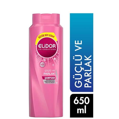 Elidor Şampuan 650Ml(Güçlü Ve Parlak 2 İn1)*16