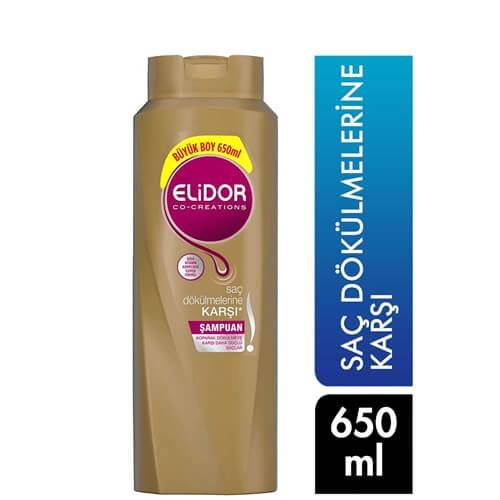Elidor Şampuan 650Ml(Saç Dökülmelerine Karşı)*16