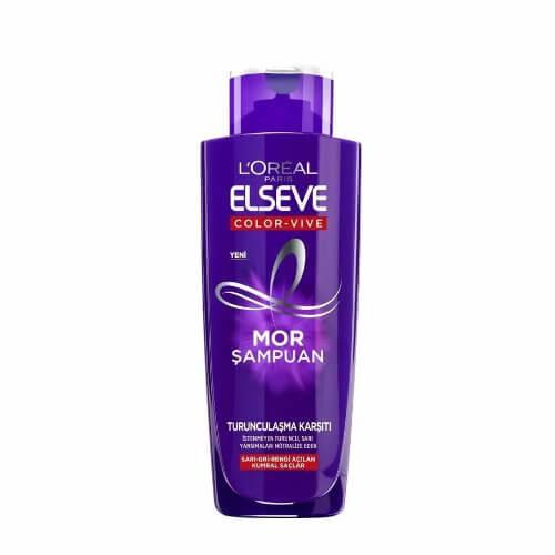 Elseve 200Ml Mor Şampuan *6 (Color-Vıve)