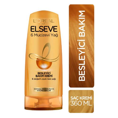 Elseve 360Ml Saç Kremi *6 (6 Mucizevi Yağ)