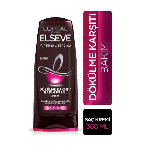 Elseve 360Ml Saç Kremi*6 (Argınıne Dirençx3-Dök.Karşı