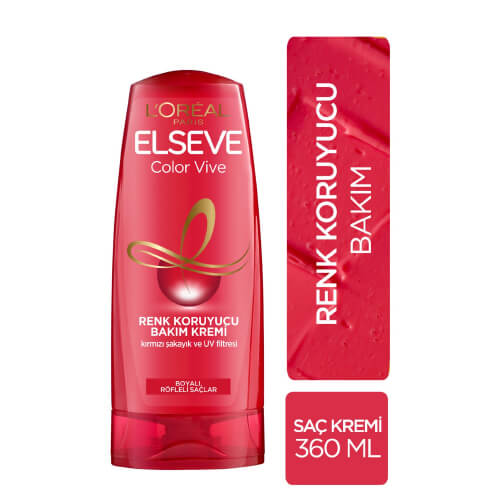 Elseve 360Ml Saç Kremi *6 (Colorvıve)