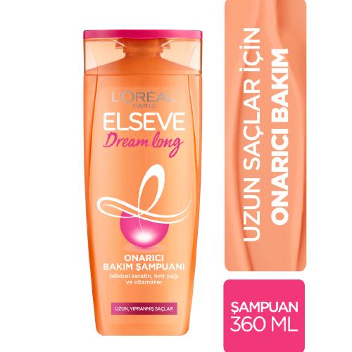 Elseve 360Ml Şampuan*6 (Dream Long)