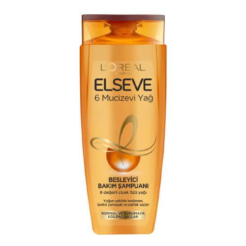 Elseve 450Ml Şampuan*6  (6 Mucizevi Yağ)