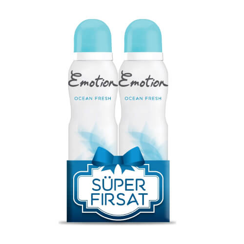 Emotıon Deodorant 2 Lı Ocean Fresh 12 Lı