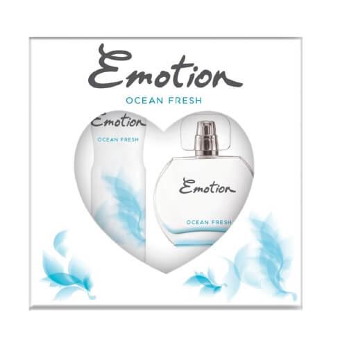 Emotıon Edt+Deodorant+Karton Kof Ocean Fresh 6 Lı