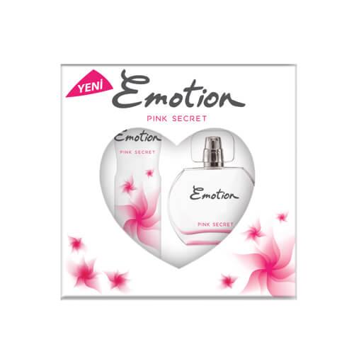 Emotıon Edt+Deodorant+Karton Kofre Pınk Secret 6Lı