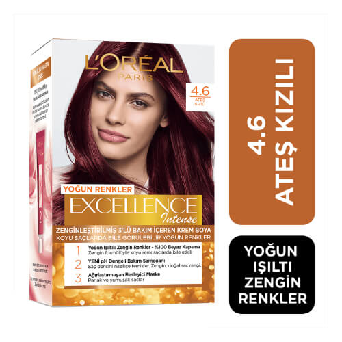 Excellence Intense Saç Boyası.      (4.60) *6