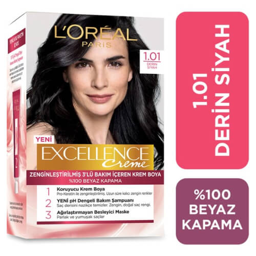 Excellence Saç Boyası.      (1.01) *6