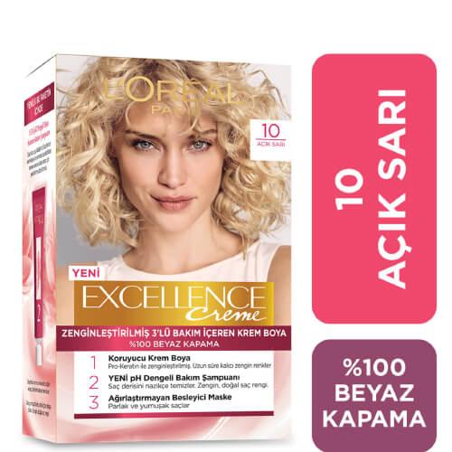 Excellence Saç Boyası.    (10) *6