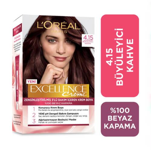 Excellence Saç Boyası. (4.15) *6