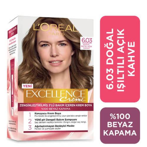 Excellence Saç Boyası.      (6.03) *6