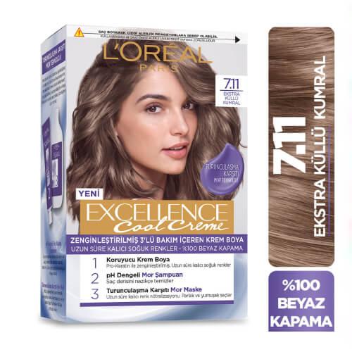Excellence Saç Boyası.(7.11)*6