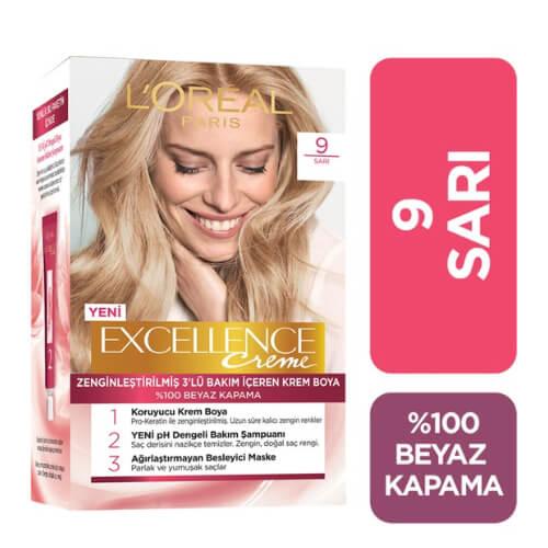 Excellence Saç Boyası.      (9) *6
