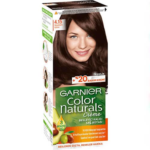 Garnıer Color Naturel (4,15) Büyüleyici Kahve*12
