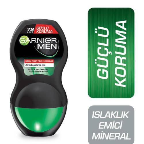 Garnier Mineral Rollon Bay 50Ml *6 (Güçlü Koruma)