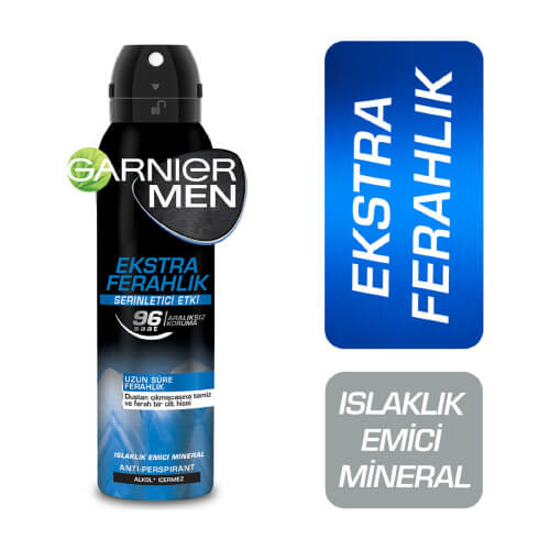 Garnier.Mineral Spray Bay 150Ml *6 (Ekstra Ferahlık )