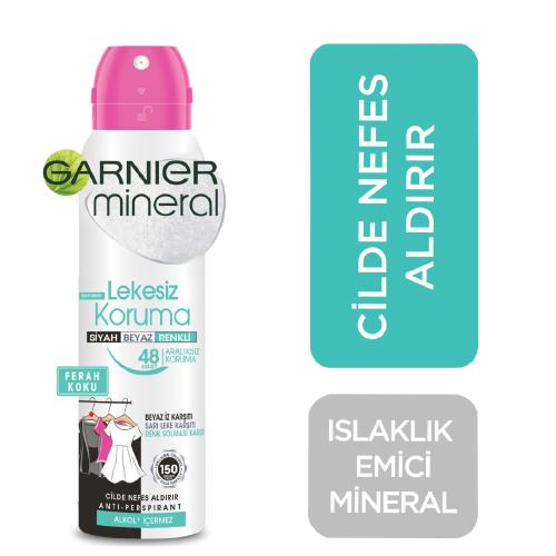 Garnier.Mineral Spray Bay 150Ml *6 (Lekesiz Koruma )