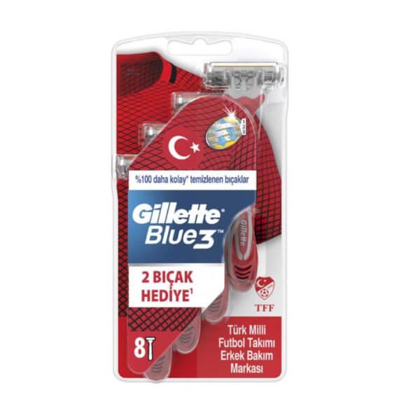 Gillette Blue 3 Tıraş Bıçağı 8'li