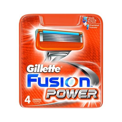 Gillette Fusion Tıraş Bıçağı 4 Yedek Power