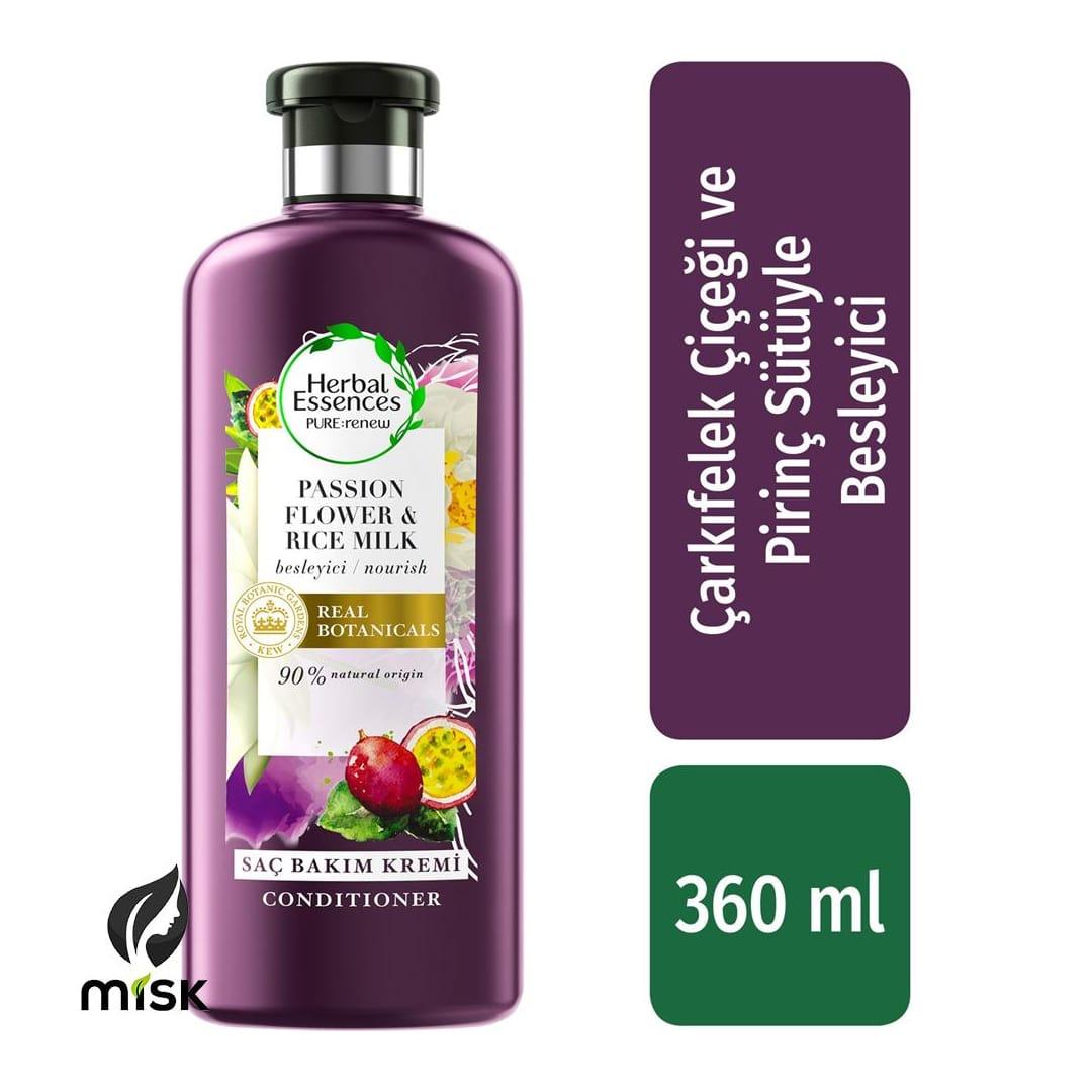 Herbal Essences Saç Kremi Çarkıfelek Meyvesi Pirinç Sütü Özlü 360 ml
