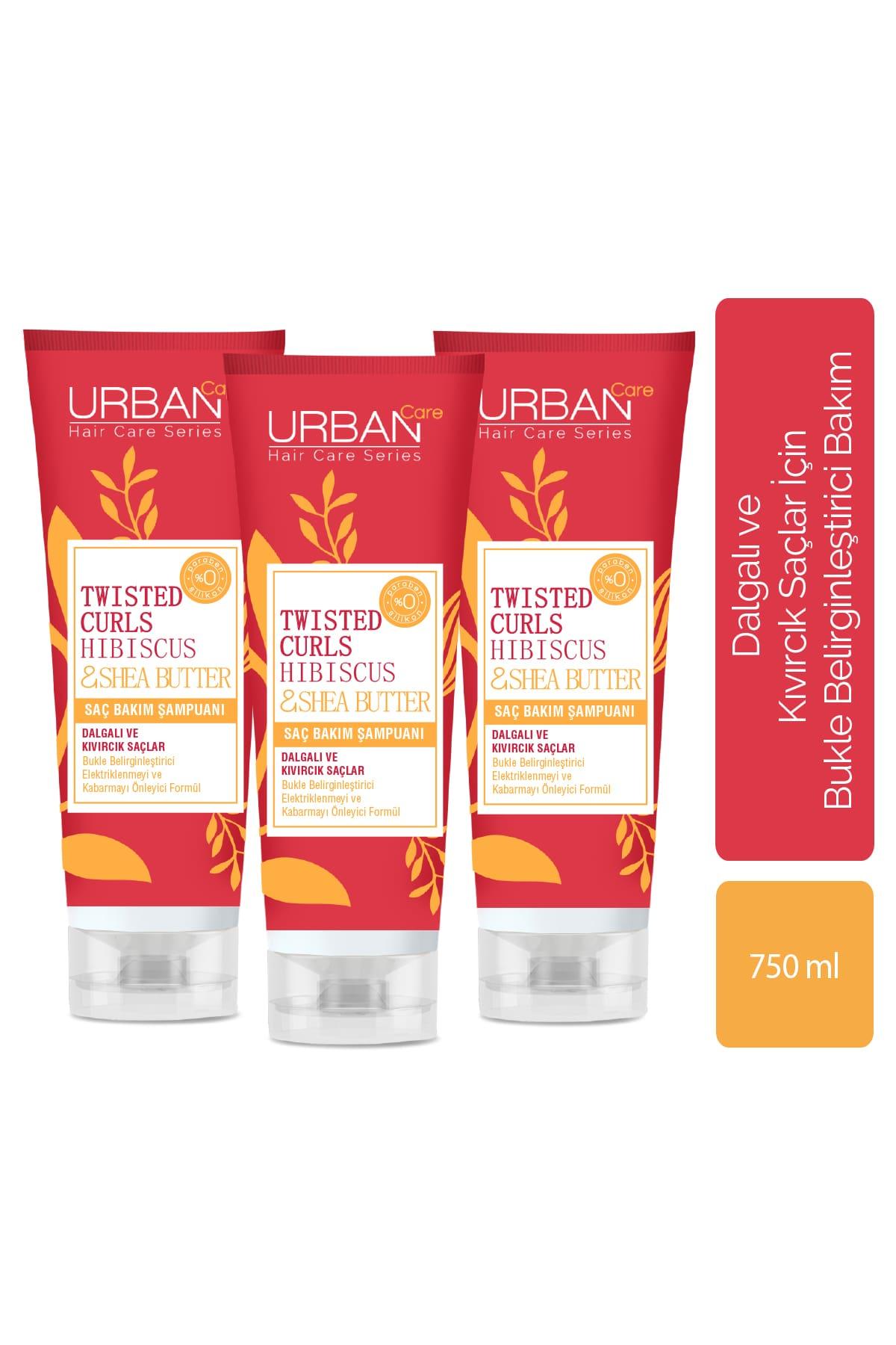 Hibiscus &Shea Butter Saç Bakım Şampuanı 3'lü Avantajlı Paket
