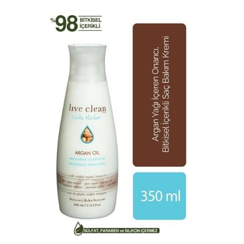 Live Clean Argan Oil Condıtıoner 350 ML