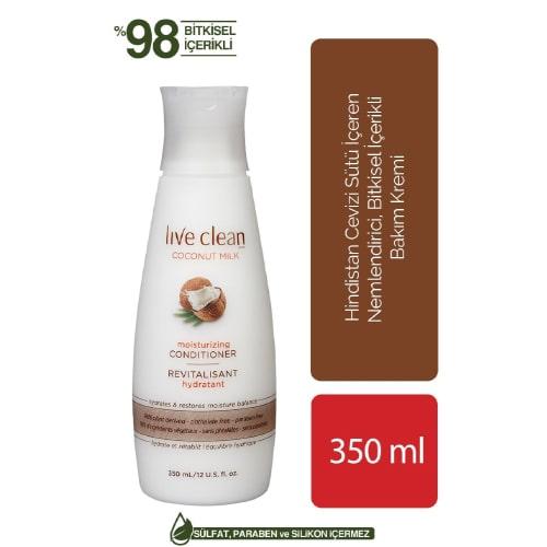 Live Clean Coconut Mılk Shampoo  350 ML