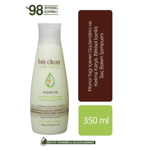 Live Clean Monoi Oil 350 ML Shampoo