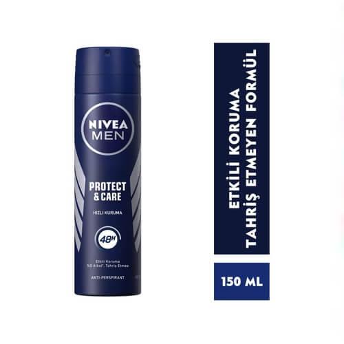 Nıvea Deodorant 150Ml Men Protec Care*30