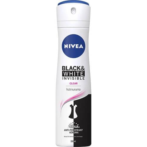 Nıvea Deodorant 150Ml Women B&W Invısıble Fresh*30