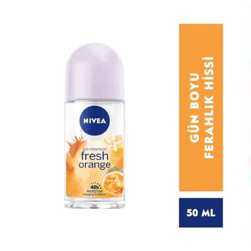 Nıvea Roll-On 50Ml Women Fresh Orange*30