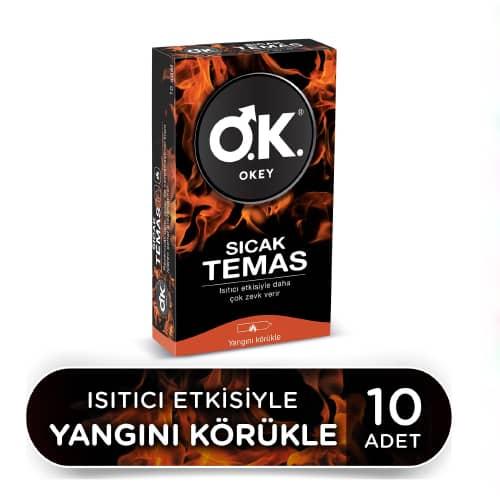 Okey Sıcak Temas 10 Lu Prezervatif
