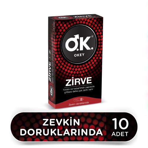 Okey Zirve  Prezervatif 10'lu